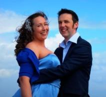 Sarah and Damian Beach FB